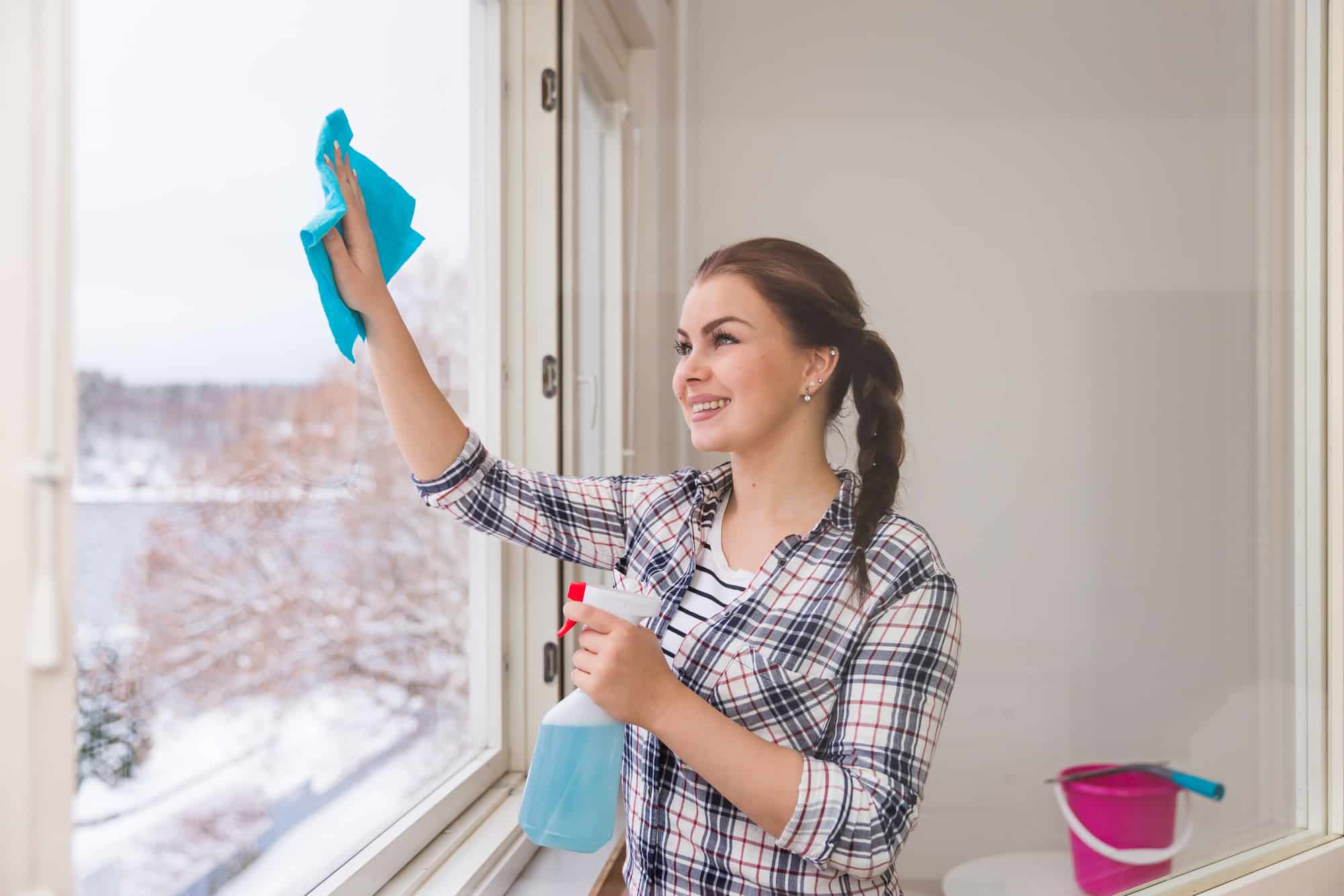 how to keep a house clean