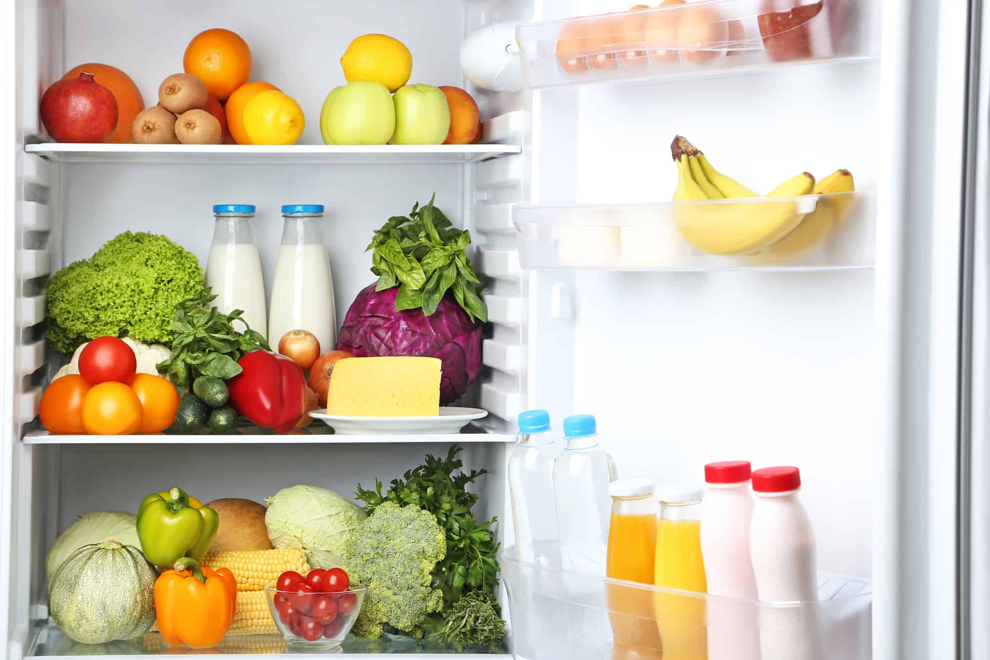 refrigerator organization ideas